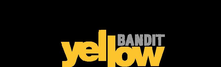 Yellow Bandit Logo.